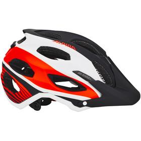 Alpina Carapax casco per bici rosso/nero